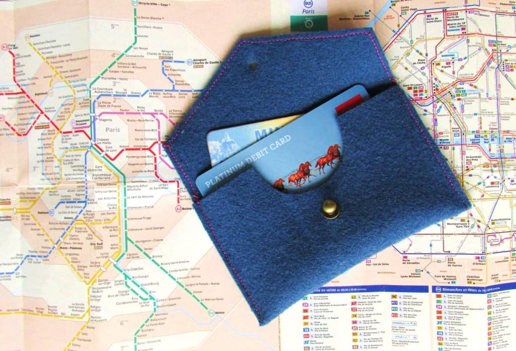Travel Wallet from Francoise et Moi