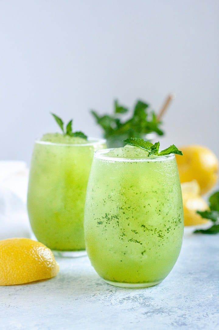 Aloe Vera Lemonade Slush