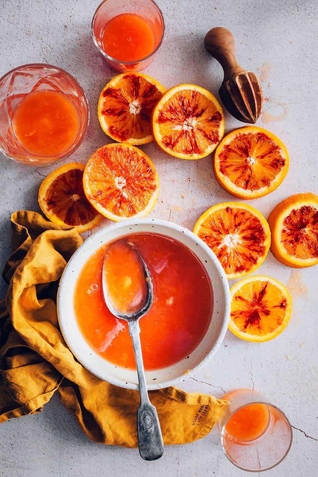 Blood Orange Italian Soda Recipe