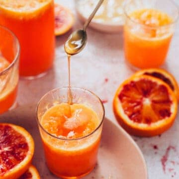 Blood Orange Italian Soda Recipe