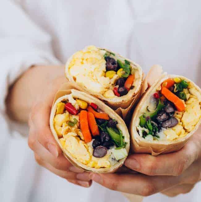 Make-Ahead Breakfast Burrito