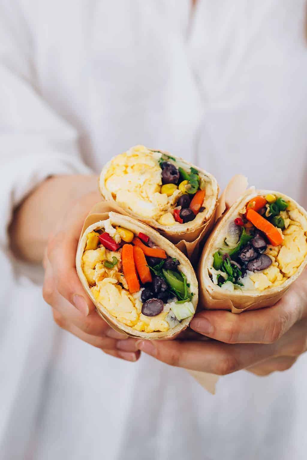 How to Make Freezer-Friendly Breakfast Burritos