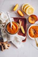 Ginger Peach Jam Recipe