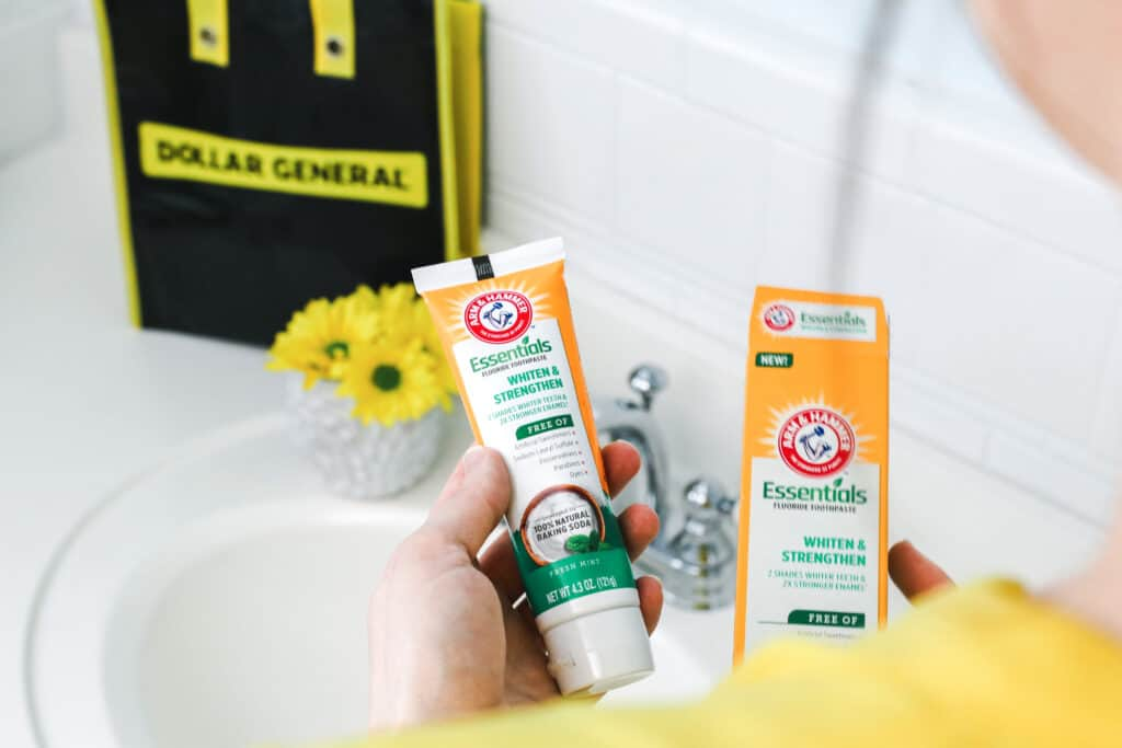 ARM & HAMMER™ Essentials Whiten & Strengthen Toothpaste