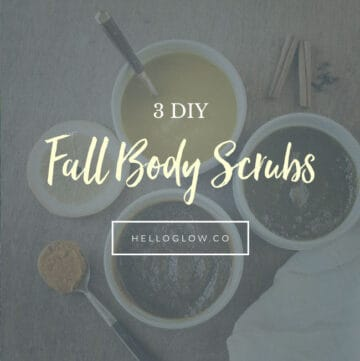 3 DIY Fall Body Scrubs - HelloGlow.co