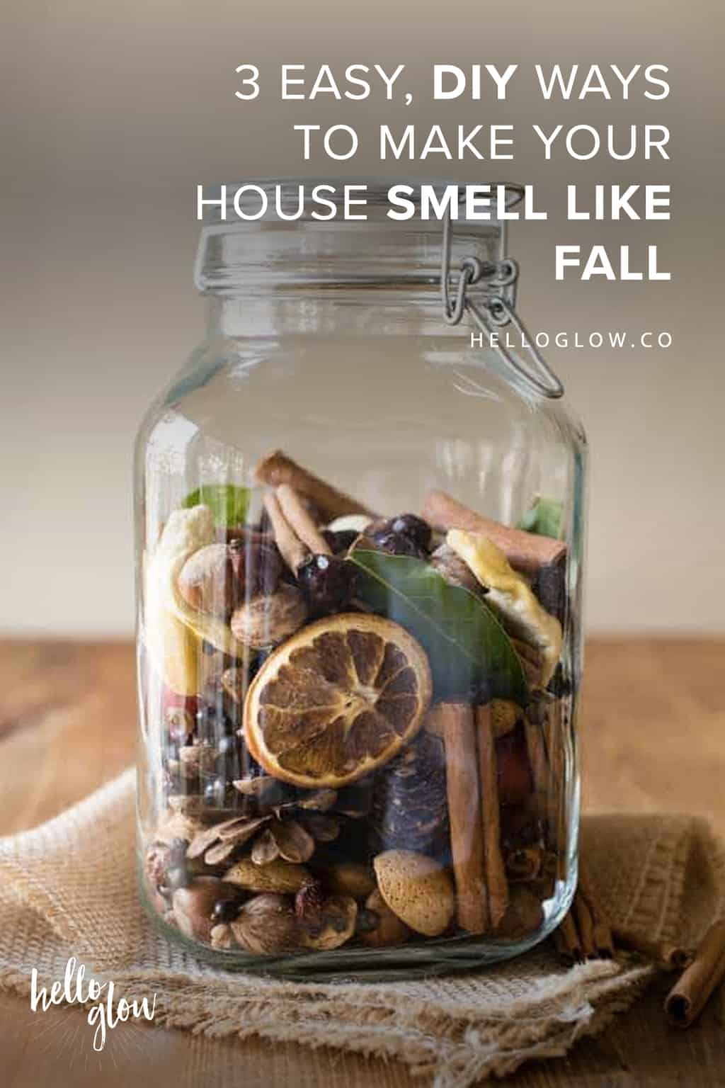 3 Easy, DIY Ways to Make Your House Smell Like Fall - Hello Glow