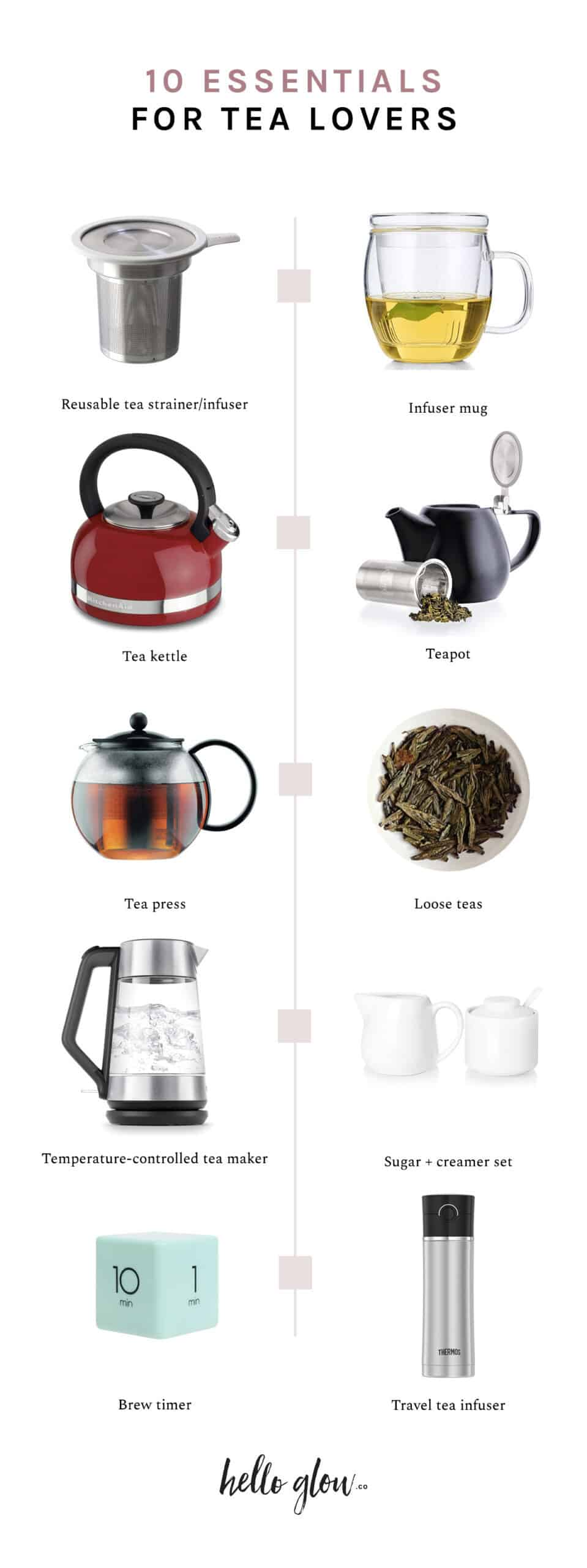 10 Essentials for Tea Lovers - HelloGlow.co