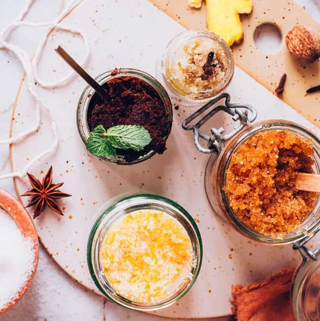 4 Homemade Scrub Recipes