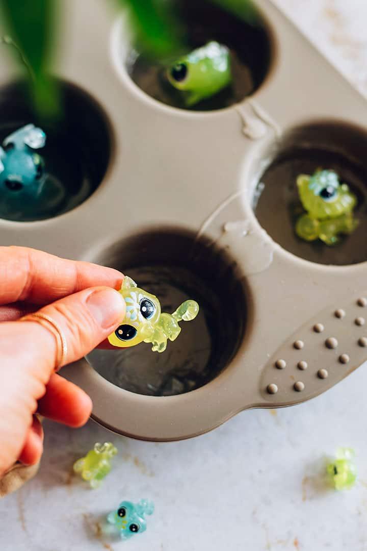 How to put tiny treasures into glycerin soap