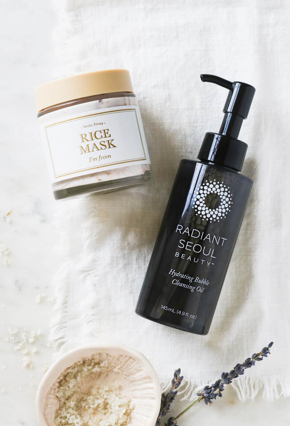 I'm From Rice Mask and Radiant Soul Cleansing Oil | Beauty Gift Guide