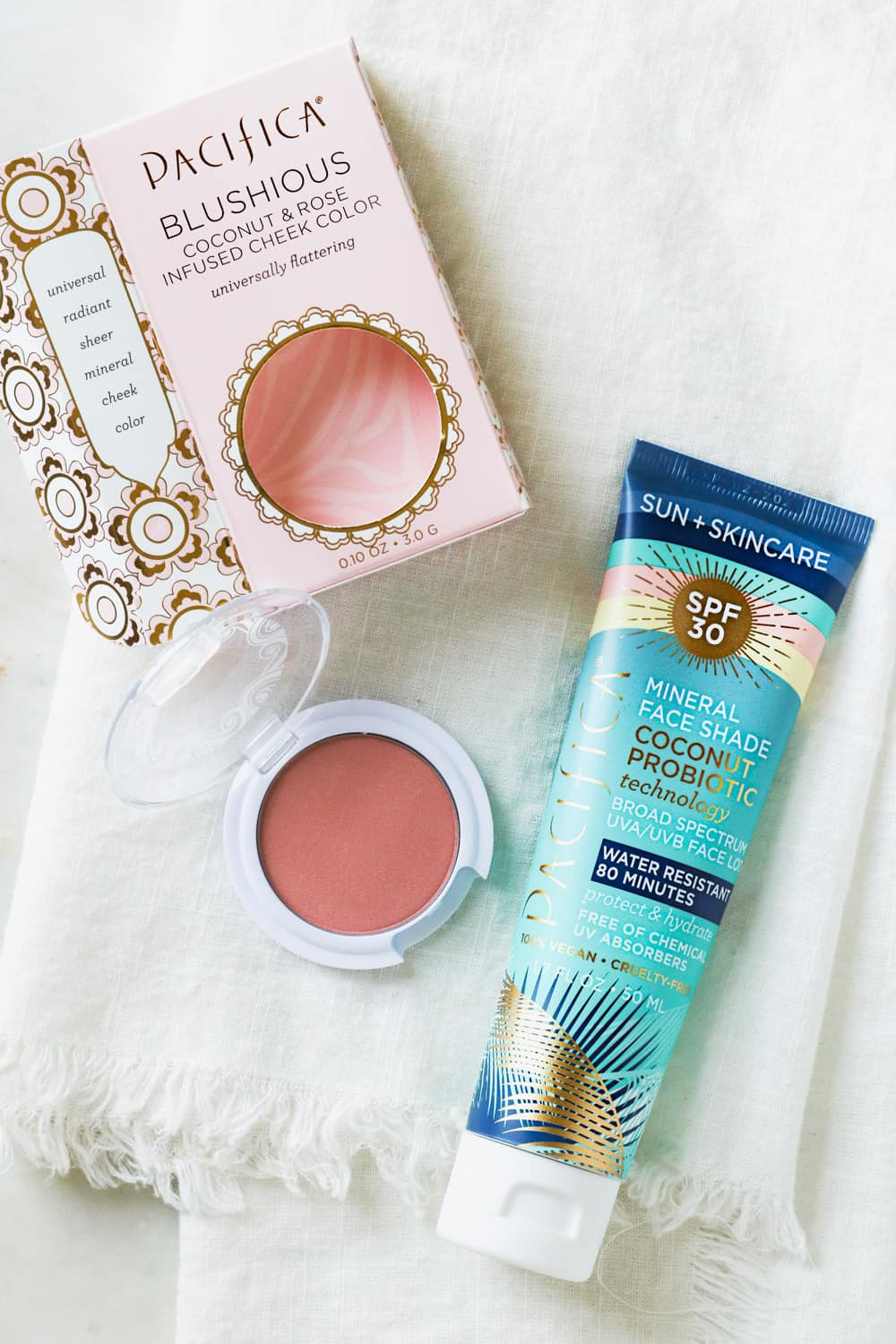 Pacifica Blushious and Mineral Face Shade | Beauty Gift Guide