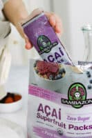 Acai Packs for Lemon Berry Acai Smoothie Bowl