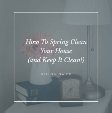 How to spring clean your house