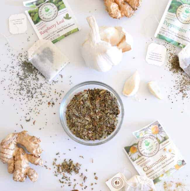 How to Stock Your Natural Medicine Cabinet - Herbs & Teas