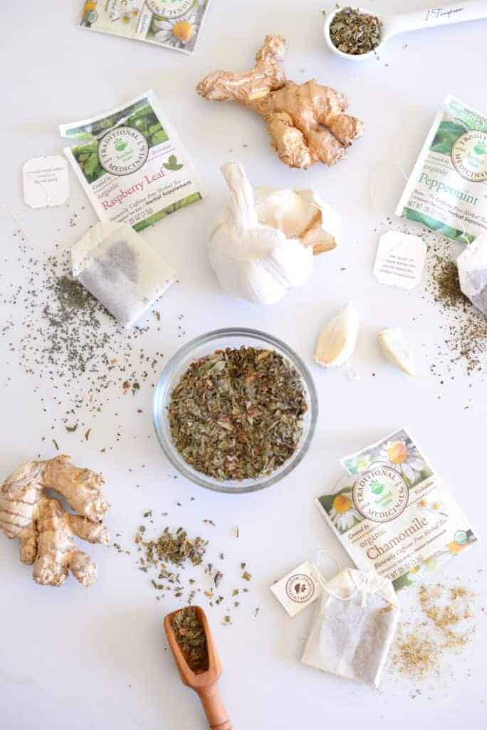 Herbs and Teas for Your Natural Medicine Cabinet