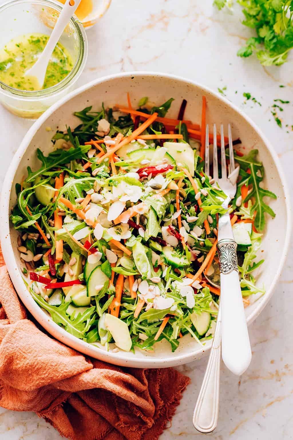 Glowing Skin Salad dan Detox Dressing