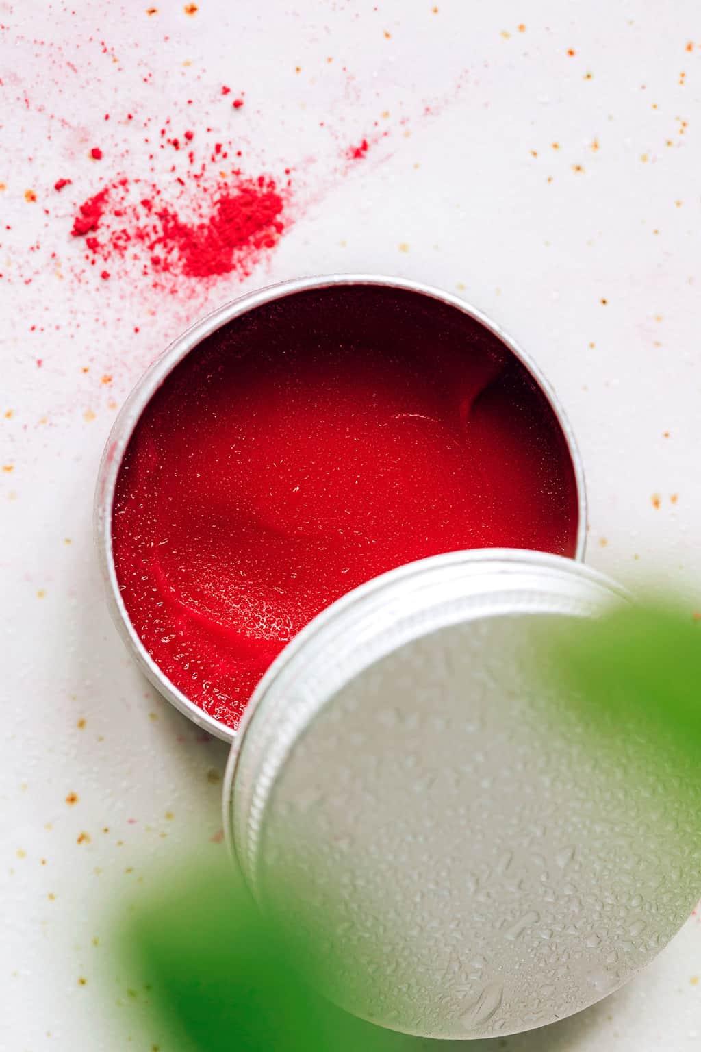 Creamy DIY Lip + Cheek Stain