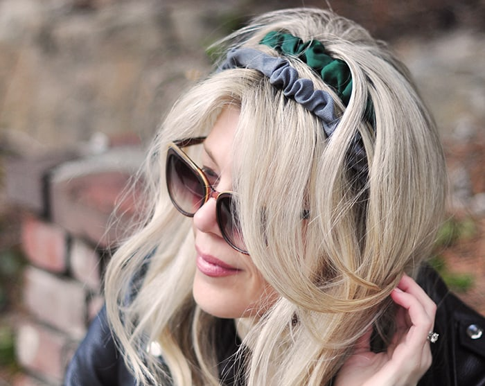 DIY Scrunchie Headband - Love, Maegan