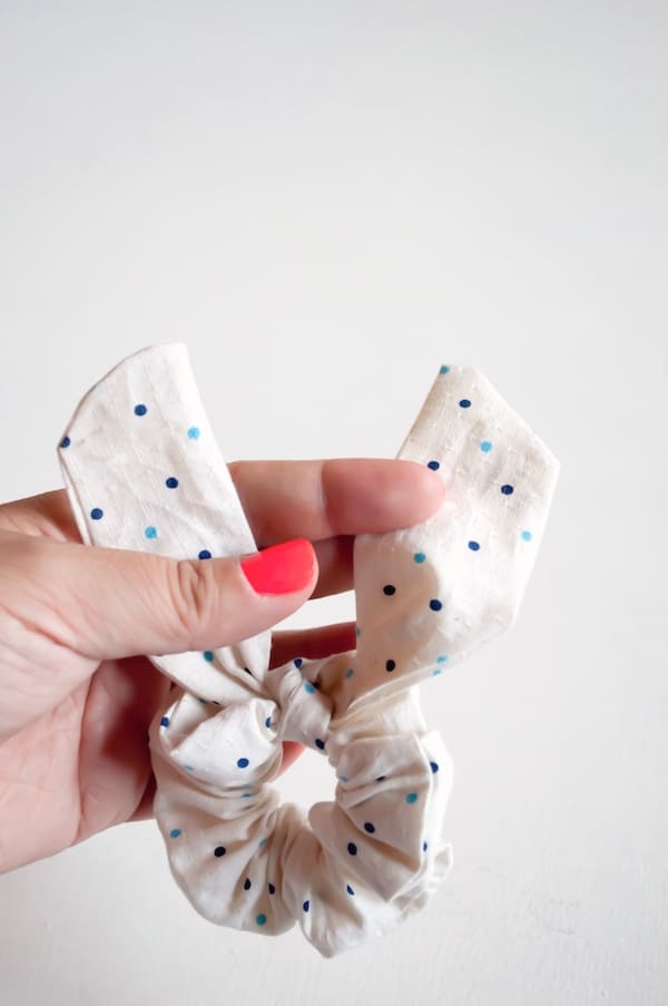 DIY Bunny Scrunchie - Oh The Lovely Things