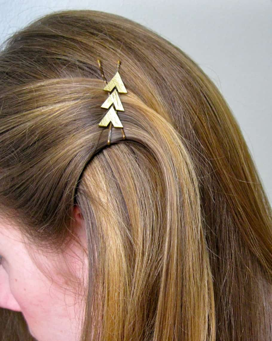 Hunger Games Katniss-inspired hair clip - Art for All