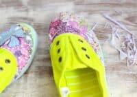 DIY Photo Transfer Shoes