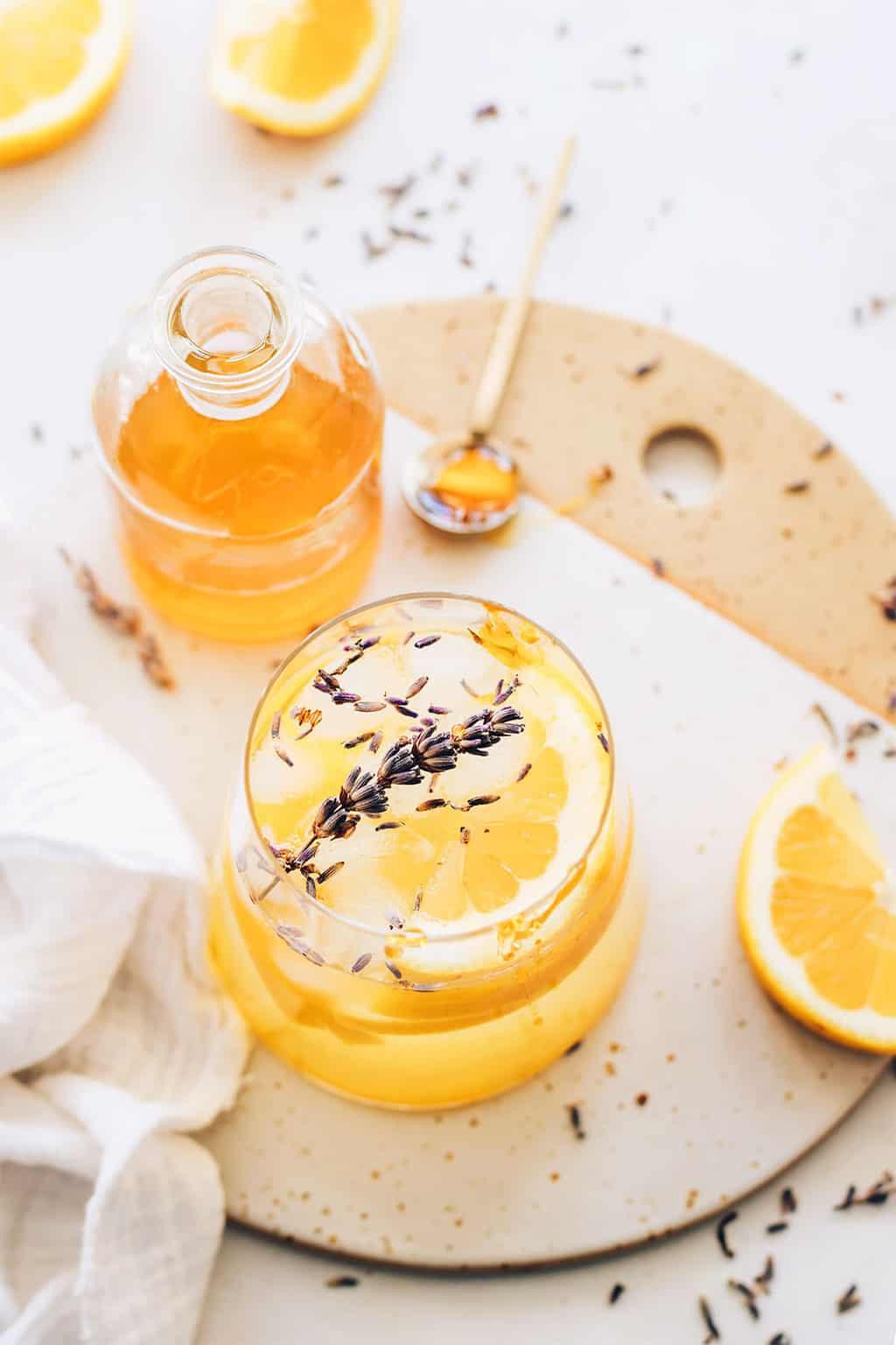Resep Soda Limun Lavender