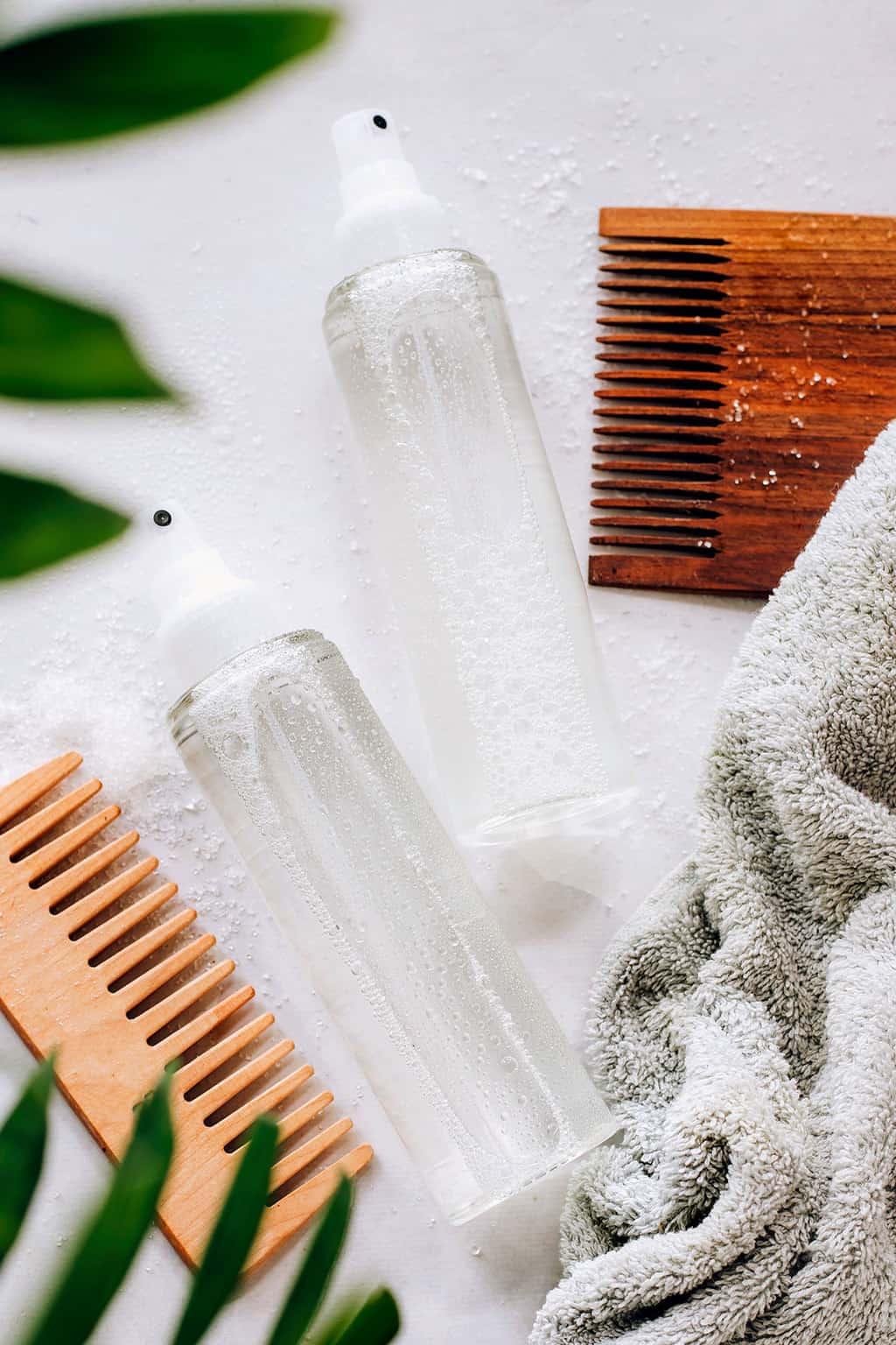 2 DIY hair spray recipes for beachy hair
