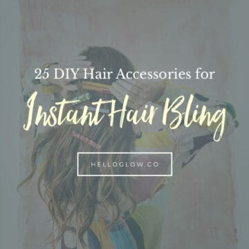 25 DIY Hair Accessories for Instant Hair Bling - Hello Glow