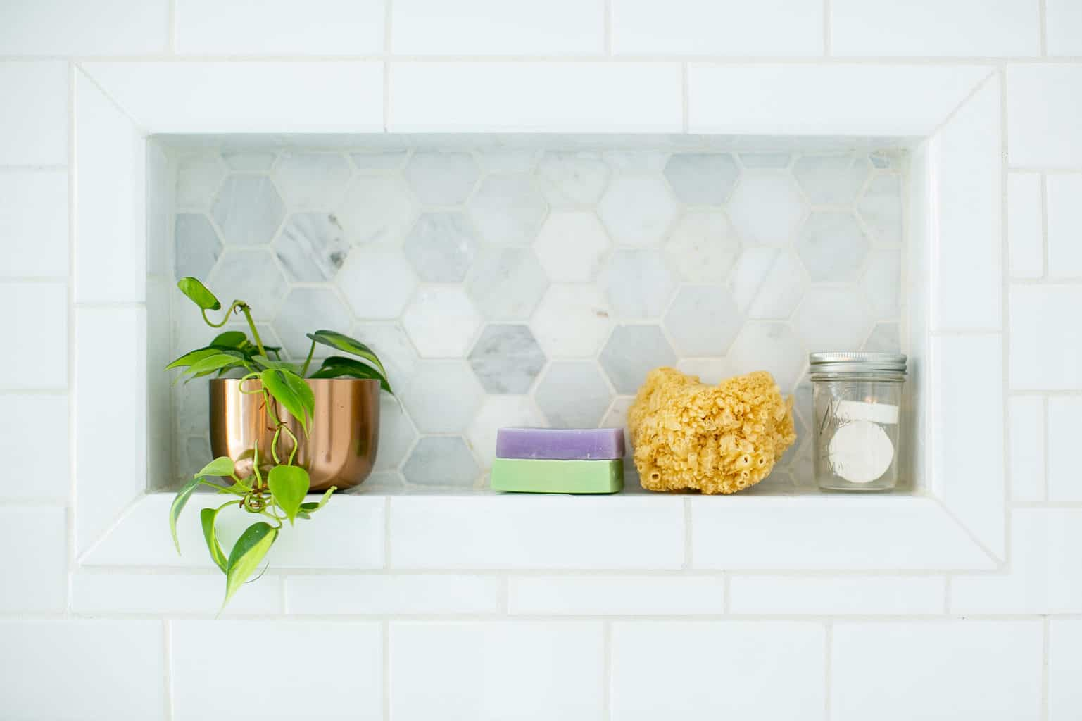 Yes, you can add plants to your shower