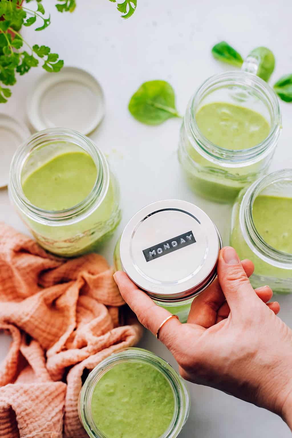Big Batch Green Smoothie Recipe