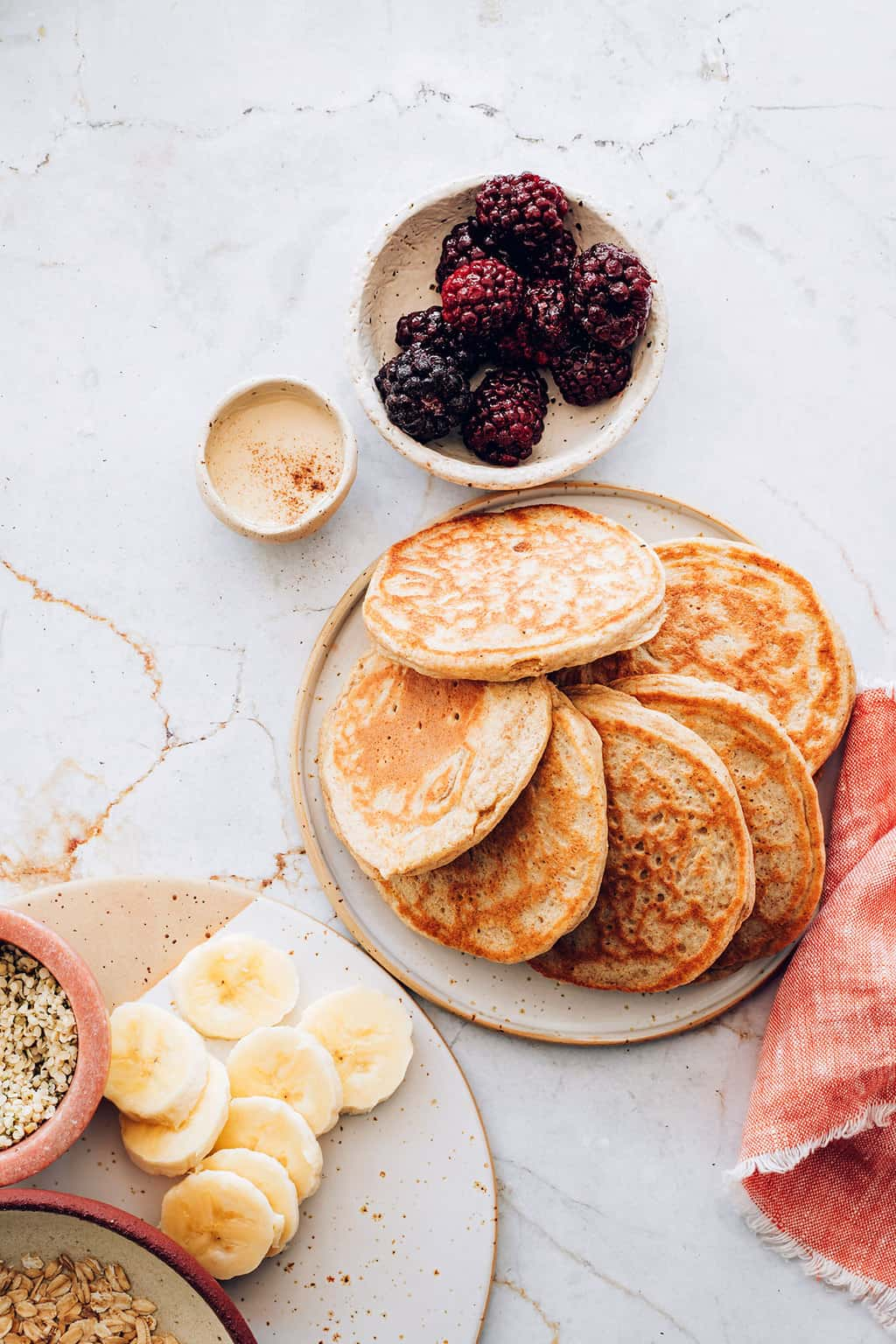 How to make protein pancakes in the blender