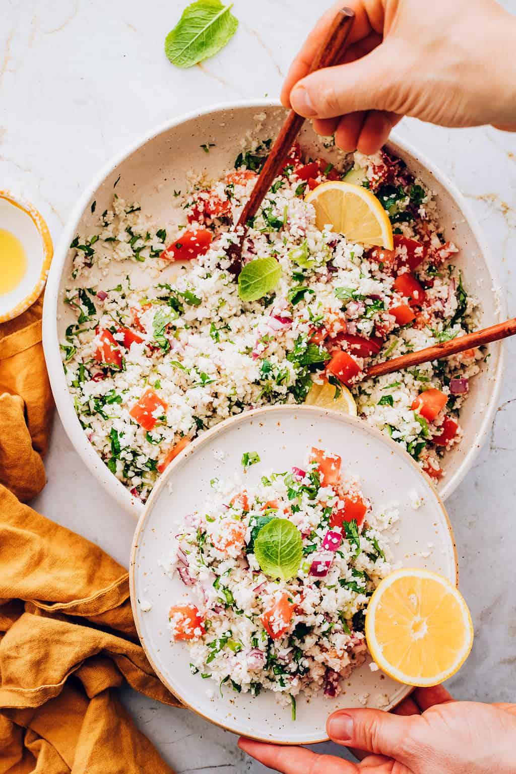 Cauliflower Tabouleh Salad