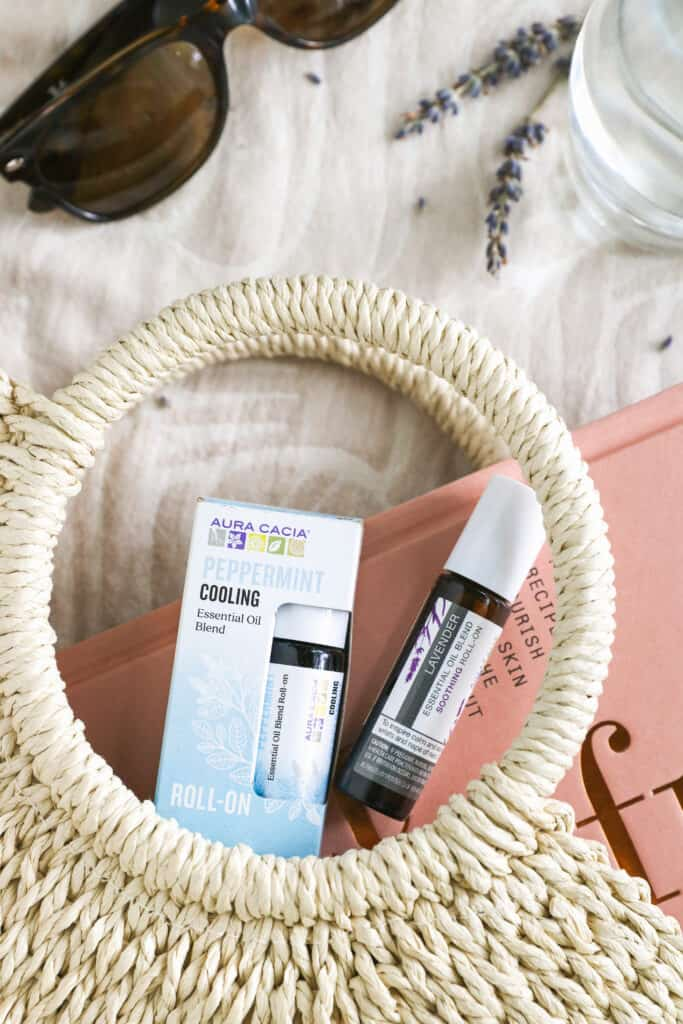 Essential Oil Summer Essentials for Your Beach Bag