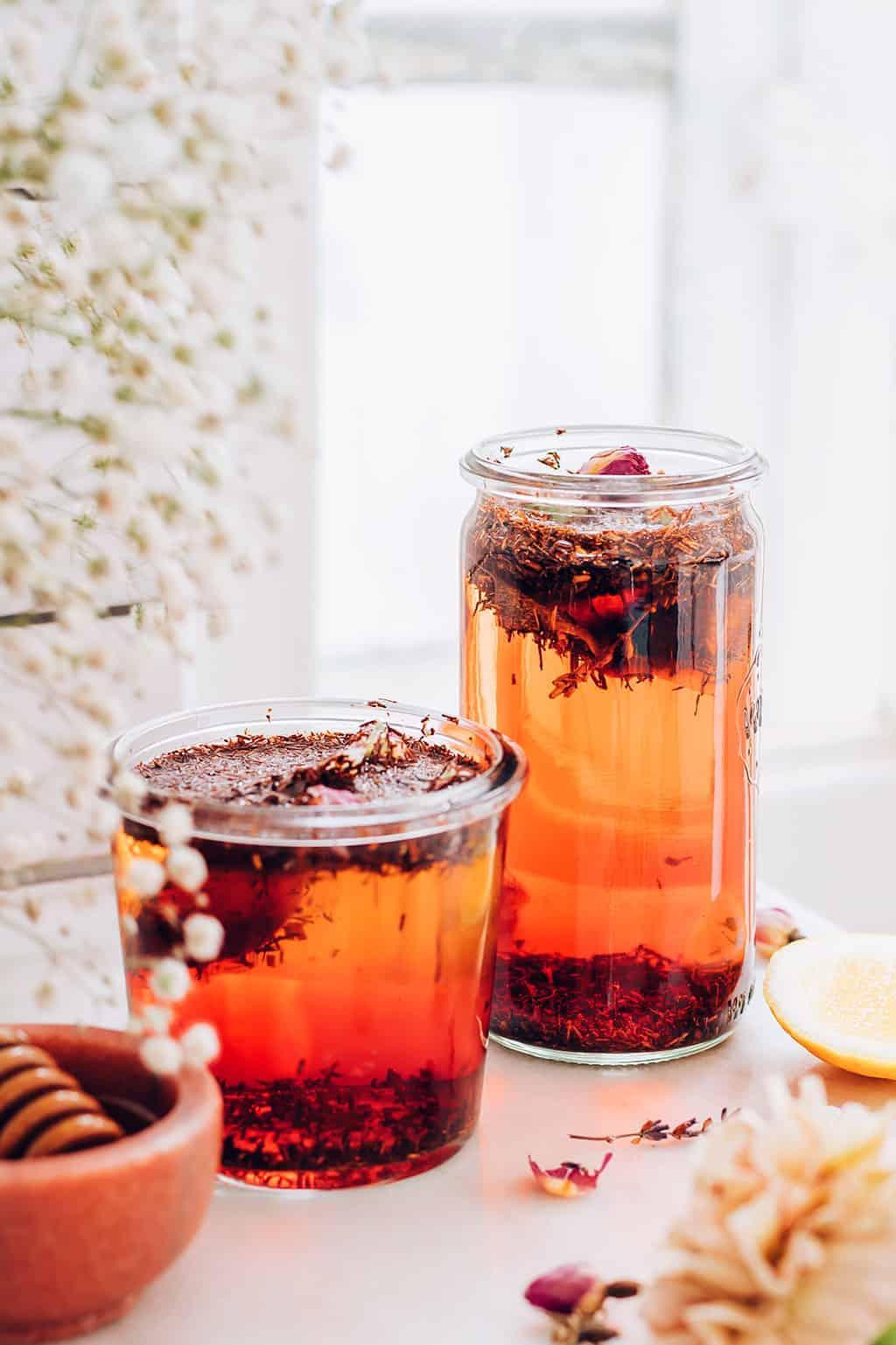 Rooiboos Rose Sun Tea