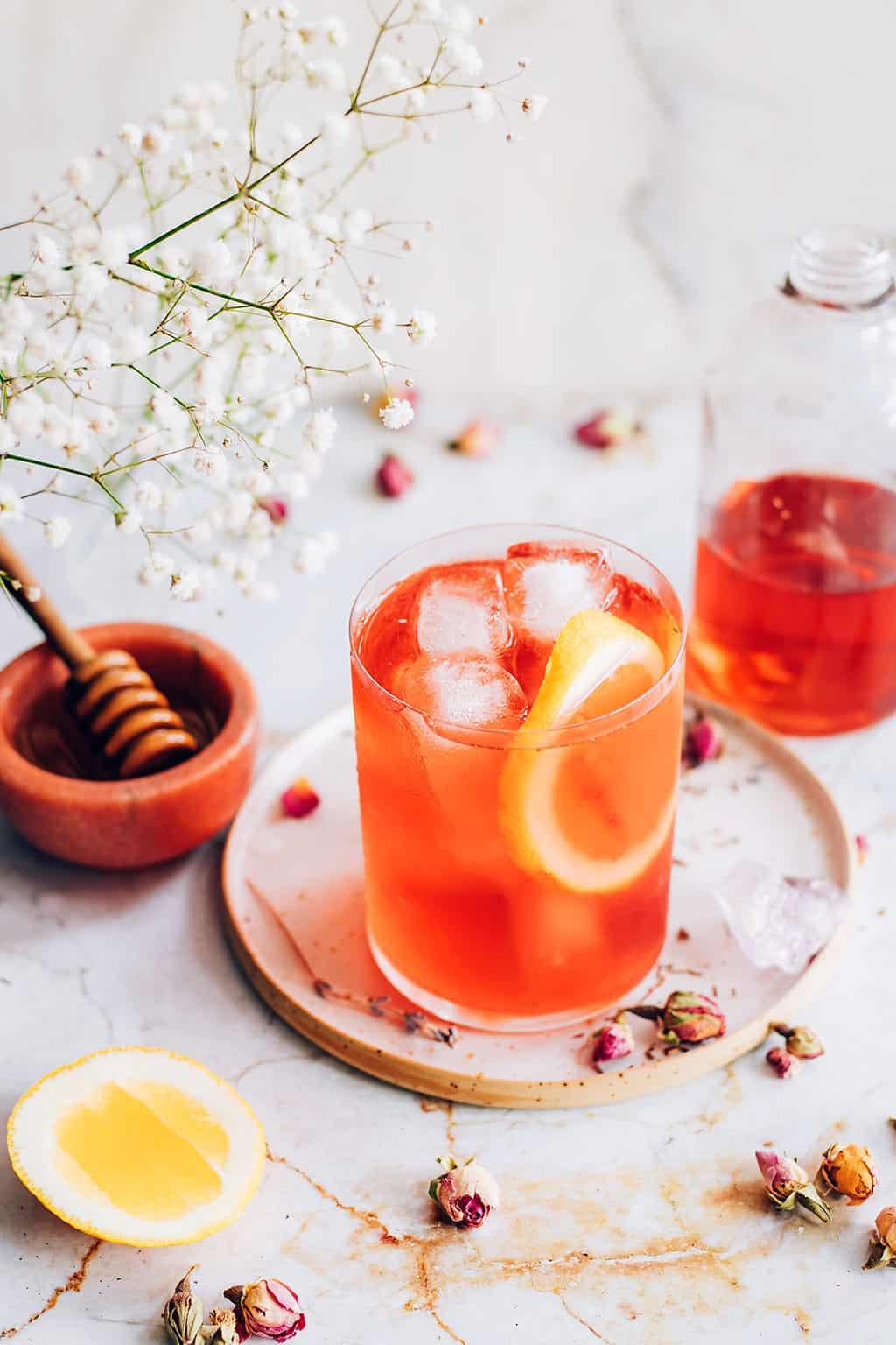 Rooibos Rose Sun Tea