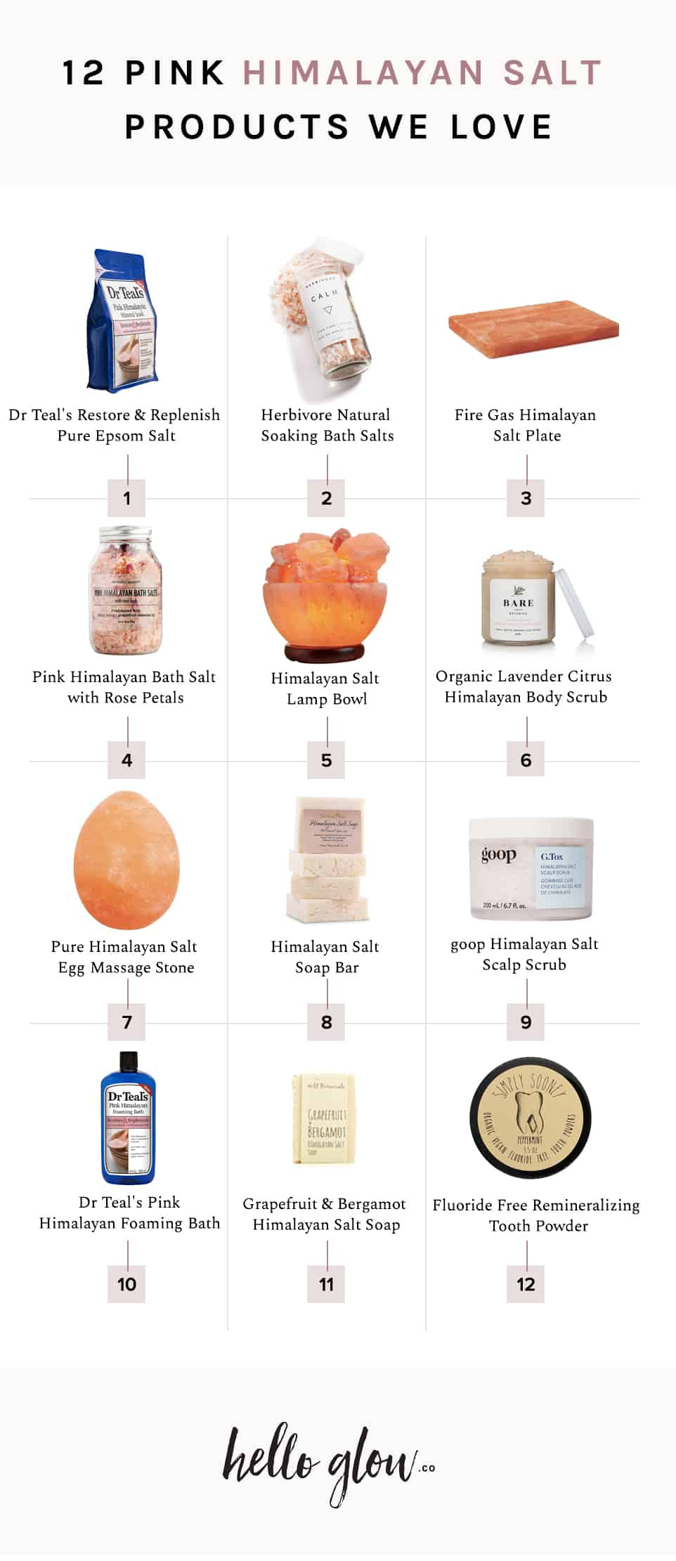 12 Pink Himalayan Salt Products We're Loving Right Now - Hello Glow