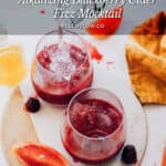Alkalizing Blackberry Cider Fizz Mocktail - Hello Glow