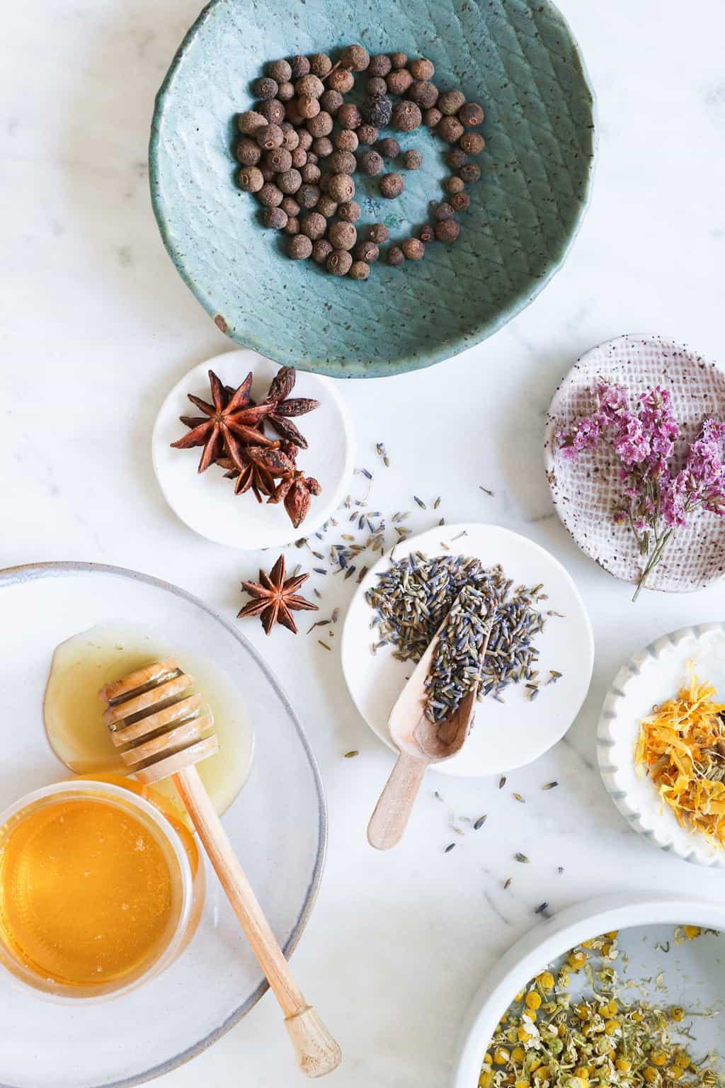 Infused honey flavor ideas
