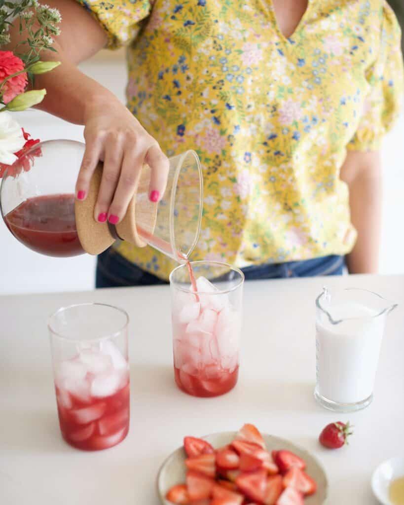Reishi Pink Drink Cooler
