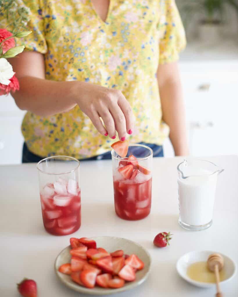 Adaptogenic Pink Drink Recipe