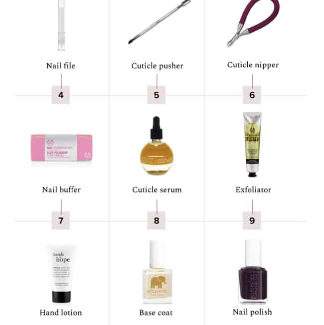 Everything you need for an at-home manicure - HelloGlow