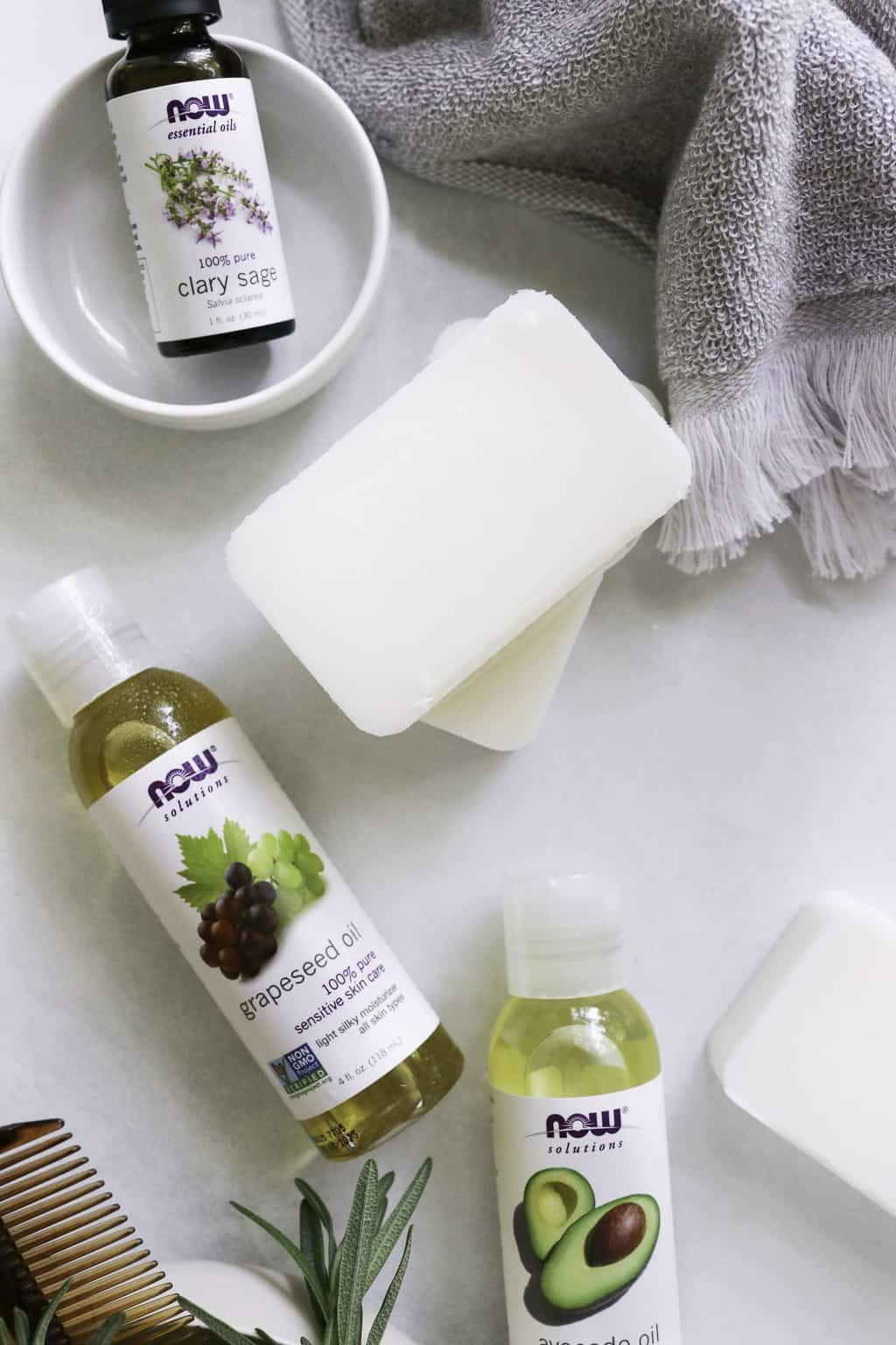 how to make a shampoo bar for Dry, Frizzy Hair